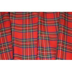 Krata Szkocka - Czerwony