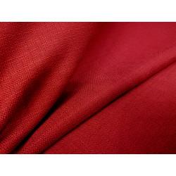 Tkanina obrusowa - ciemno-czerwona