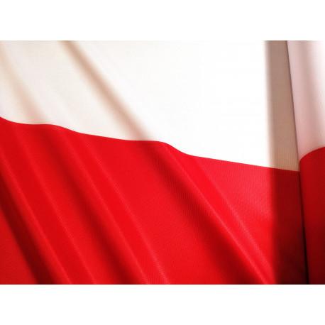 Tkanina flagowa - Polska