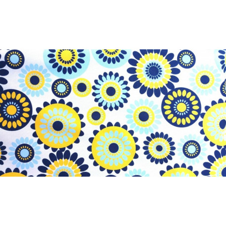 Wodoodporna - Żółte kwiaty