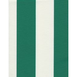 Wodoodporna - Biało-zielone pasy