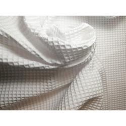 Tkanina bawełniana wafel