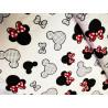 Tkanina bawełniana na maseczki - Myszka Mini