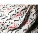 Tkanina bawełniana na maseczki - Smile
