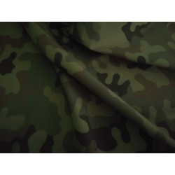 Wodoodporna - Maskująca (moro) ciemna cienka