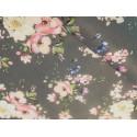 Bawełna - kwiaty jabłoni