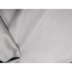 Tkanina obrusowa - jasnoszara - gładka