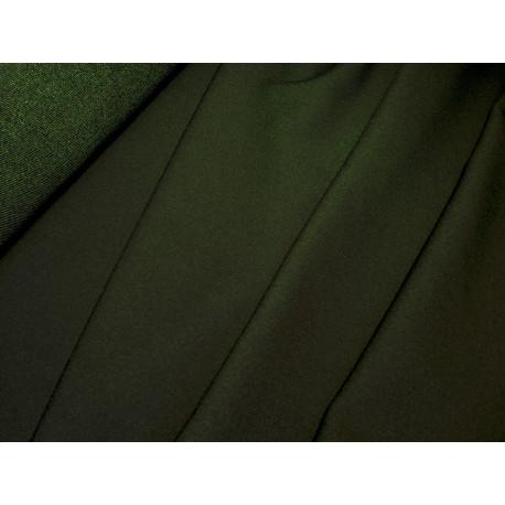 Tkanina Punto - Ciemno zielona