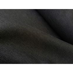 Tkanina obiciowa - szara - ciemna - melanż