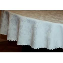 Biały Ząbek 160x120 (Róże)