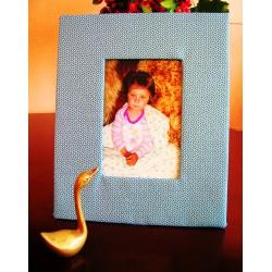 Ramka foto - niebieska