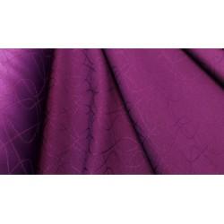 Obrusowa tkanina - Petelki - fiolet