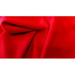 Tkanina typu Punto - Czerwona