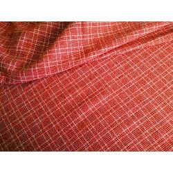Elana ubraniowa - czerwona kratka