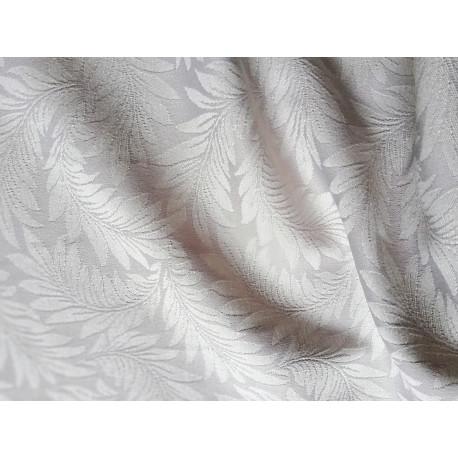 Obrusowa tkanina - jasnoszara