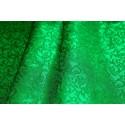 Tkanina ornatowa - zielona