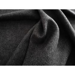 Elano-wełna - ciemnoszara w prążki